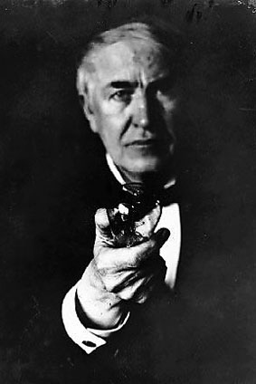 Thomas Edison. Invesntor of the light bulb